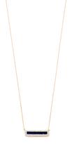 Adina Lapis + Diamond Bar Necklace