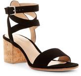 Pour La Victoire Amana Ankle Cage Block Heel Sandal