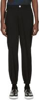 Versus Black Lion Zip Trousers