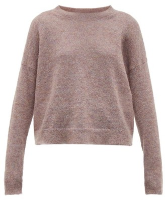 Etoile Isabel Marant Cliftony Mohair-blend Sweater - Womens - Light Pink