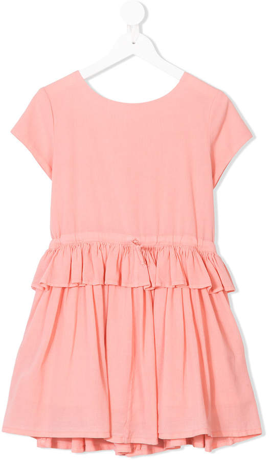 Morley tiered shortsleeved dress