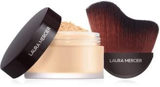Laura Mercier Make It Glow Translucent Loose Setting Powder - Glow with Brush