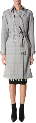 MICHAEL Michael Kors Stretch Wool Trench