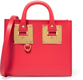 Sophie Hulme Albion Box Mini Leather Shoulder Bag - Red