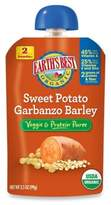 Earth's Best Organic 3.5 oz. Sweet Potato Garbanzo Barley Veggie & Protein Puree