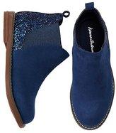 Girls Brogan Glitter Ankle Boots