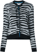 Muveil bow button cardigan - women - Cotton/Nylon/Acetate/Rayon - 38