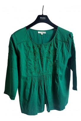 BA&SH Green Cotton Tops