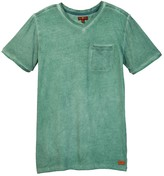 7 For All Mankind V-Neck Tee (Big Boys)