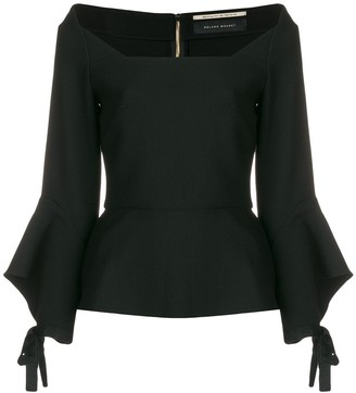 Roland Mouret Off The Shoulder Top