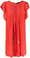 Talie Nk - embroidered silk dress - women - Silk - 36