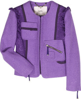 Luella Florence bouclé jacket