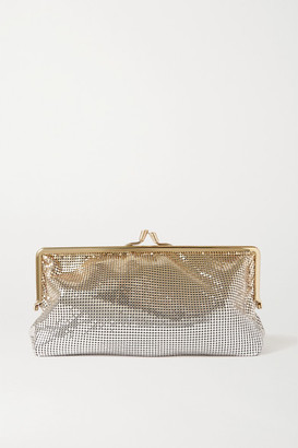 Paco Rabanne Degrade Chainmail Clutch - Gold