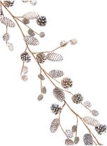 Linea Acorn and Pinecone Pewter Garland