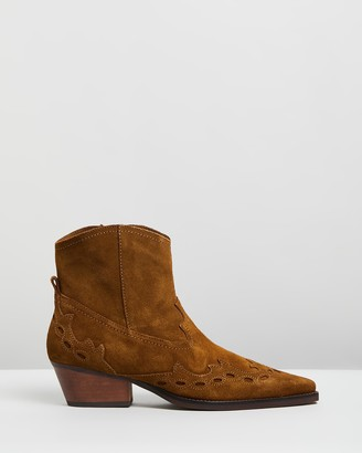 Mng Randy Ankle Boots