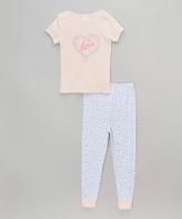 Laura Ashley Candy Bubble Pajama Set - Girls