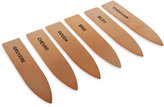 Thirstystone Stainless Steel 6 Piece Copper Cheese Marker Set