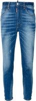 DSQUARED2 high waisted jeans - women - Cotton/Elastodiene - 42