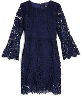 Bardot Junior Girls' Bell-Sleeve Lace Dress