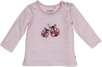 Salt&Pepper Salt and Pepper Baby Girls' NB Longsleeve Gluck Stripe T-Shirt