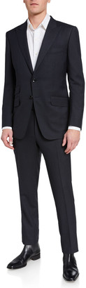Tom Ford Men's O'Connor Base Micro-Check Two-Piece Suit