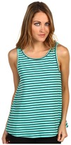 Patterson J. Kincaid Zorey Tank Top (Blue Turquoise/Black) - Apparel