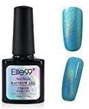 Elite99 Colorful Rainbow Gel Polish Soak Off UV LED Nail Art Holographic Manicure 10ML 7001