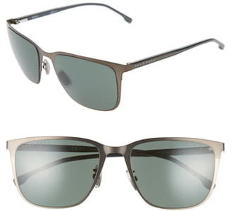 HUGO BOSS 58mm Special Fit Square Sunglasses