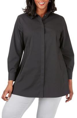 Foxcroft Cici Stretch Tunic Shirt