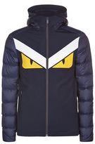 Fendi Zip Up Monster Down Jacket