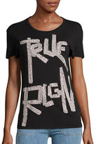 True Religion Studded Logo Tee