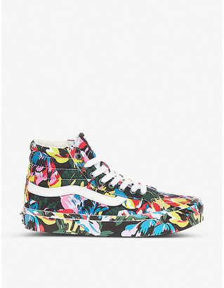 Vans x Kenzo Sk8-Hi floral-print cotton-canvas high-top trainers