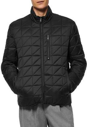 Andrew Marc Removable Sherpa-Lined Jacket