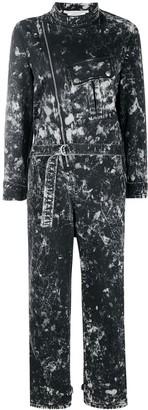 Stella McCartney Holly galaxy-wash denim jumpsuit