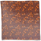 uneekee Golden Wine Leaf Romance Napkin Linen Woven Polyester Custom Printed