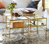 Pottery Barn Leona Cube Table