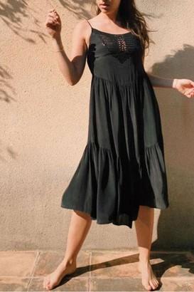 Swildens Blum Crochet Trim Dress - 8