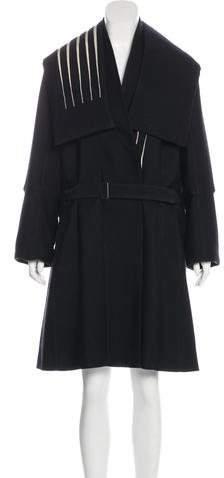 Ann Demeulemeester Wool-Blend Belted Coat