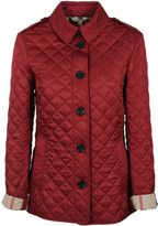 Burberry Quilted House Check Jacket
