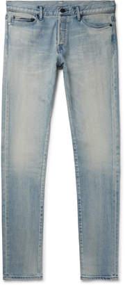 John Elliott The Cast 2 Slim-Fit Washed-Denim Jeans