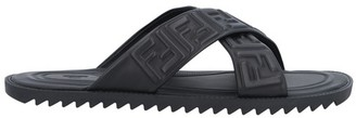 Fendi FF Nappa sandals