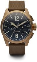 Filson Men's Field Sport Chronograph Watch, 43mm
