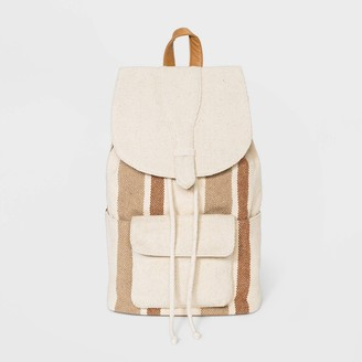 Universal Thread Striped Flap Backpack - Universal ThreadTM
