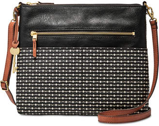 Fossil Fiona Printed Medium Crossbody