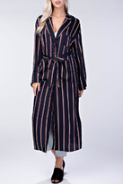 Honey Punch Stripe Robe Dress