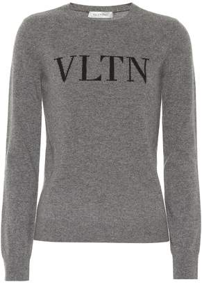 Valentino VLTN wool and cashmere sweater