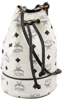 MCM Visetos Bucket Bag