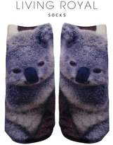 LIVING ROYAL Koala Ankle Socks