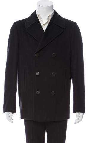 Gucci Wool Double-Breasted Peacoat