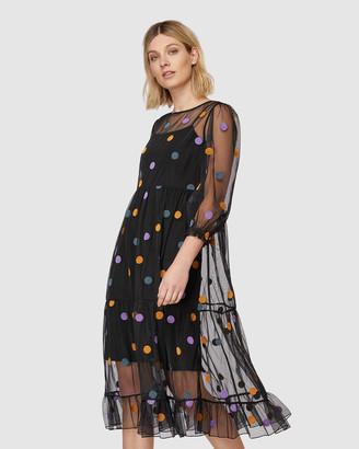 gorman Winter Moon Mesh Dress